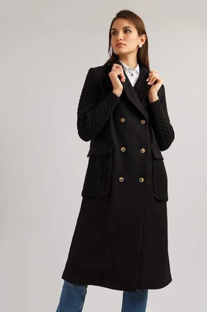 Пальто женское Finn Flare B19-12014 черные XL