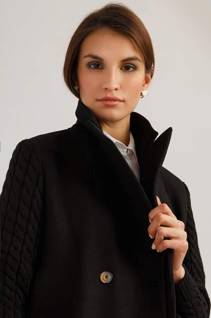 Пальто женское Finn Flare B19-12014 черные XS