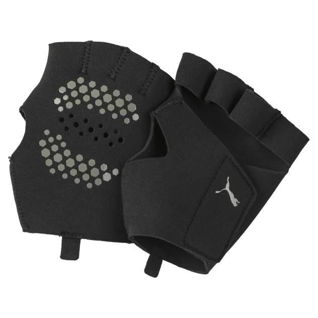 Митенки женские PUMA Tr Ess Premium Grip Gloves черные, р. L