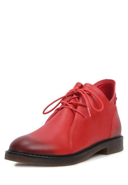 Полуботинки женские Alessio Nesca YYQ20W-75, красный