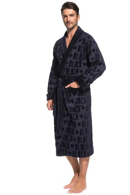 Домашний халат мужской Peche Monnaie Black Jack синий XL