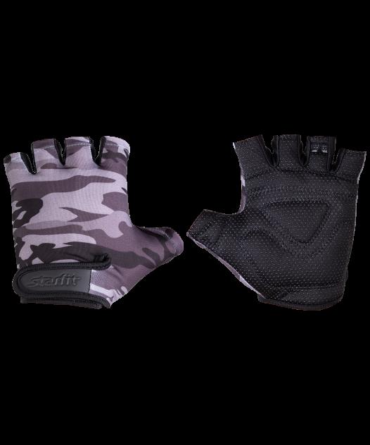 Мужские перчатки StarFit SU-126, серый