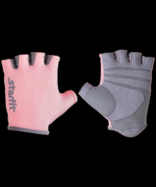 Женские перчатки StarFit SU-127, розовый