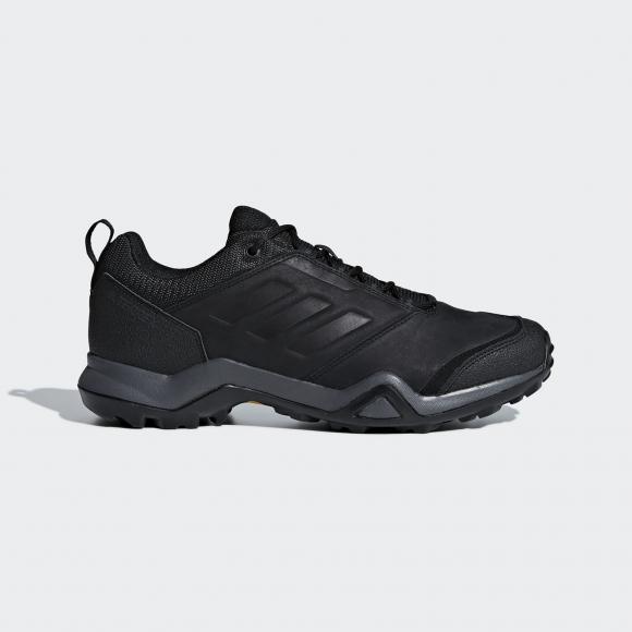 Кроссовки мужские Adidas TERREX BRUSHWOOD LEATHER, черный