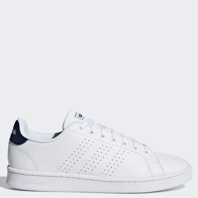 Кеды мужские Adidas Advantage белые 8.5 UK