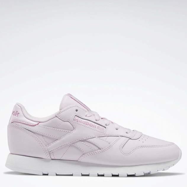Кроссовки женские Reebok CL LTHR розовые 8.5 US