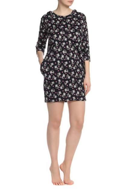 Домашнее платье Веста 16-02-062, черный