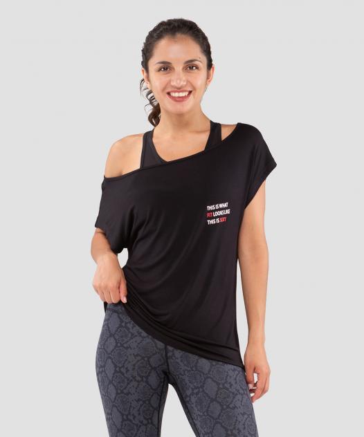 Спортивная футболка Fifty Ease Off, черный