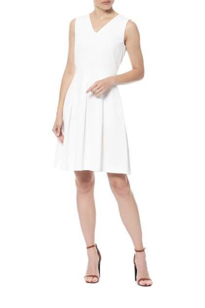 Платье женское SPORTMAX 72211054/01 белое 42 IT