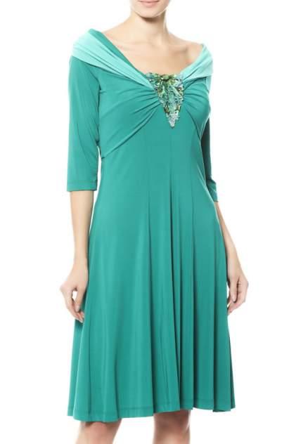 Платье женское Maria Grazia Severi 64041776/77000 зеленое 42 IT
