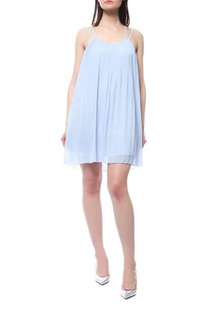 Платье женское Apart 24525 голубое 48