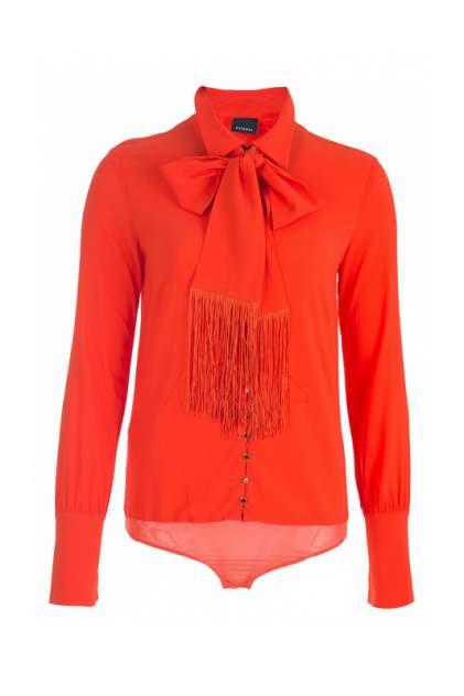 Блуза женская Pinko 83534 оранжевая 40 IT