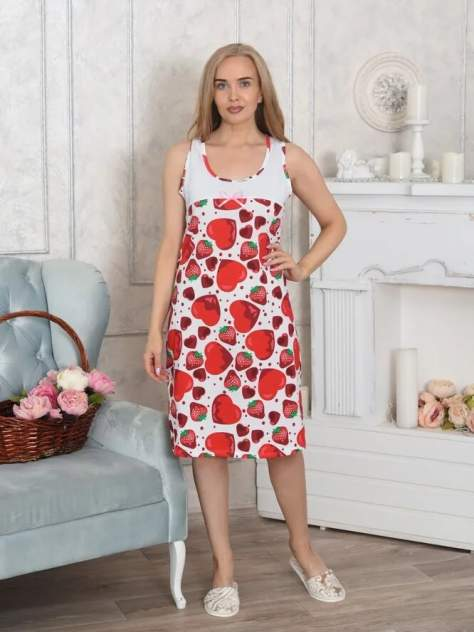Ночная сорочка женская Адель Laura разноцветная 50