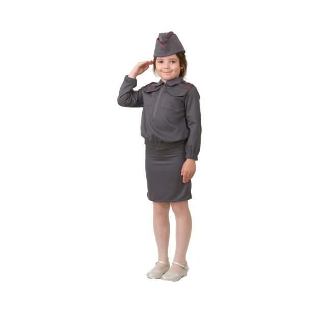 Карнавальный костюм Полицейская, размер 152-80