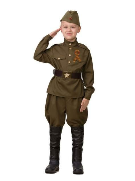 Карнавальный костюм Солдат 2, размер 122-64