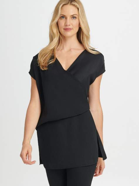 Блуза женская DKNY P9KA7DLI/BLKM черная M