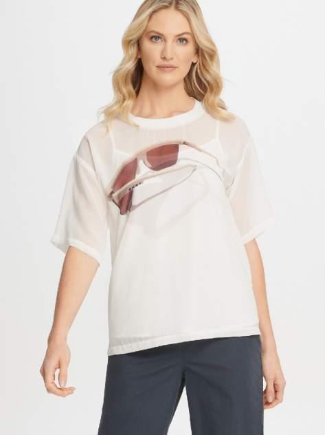 Блуза женская DKNY P0AA7EPJ/IVYS белая S