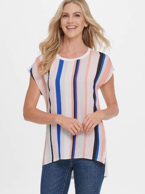Блуза женская DKNY P0AHIDTP/JAIL разноцветная L