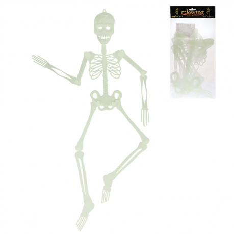 Скелет флуоресцентный, 90 см