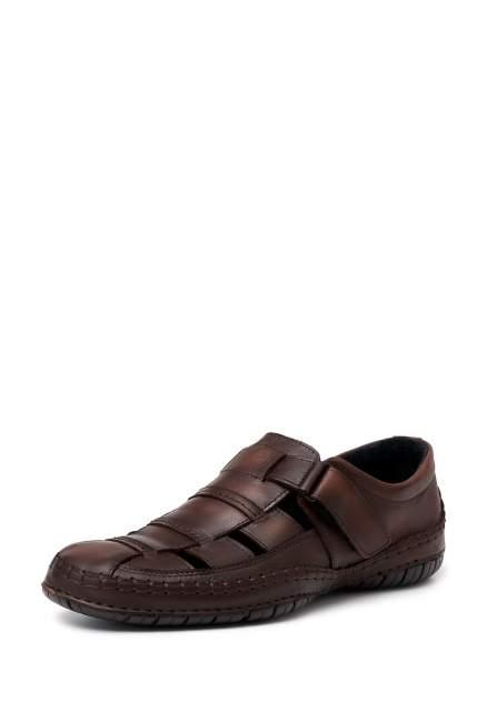 Мужские сандалии Alessio Nesca 388-232, коричневый
