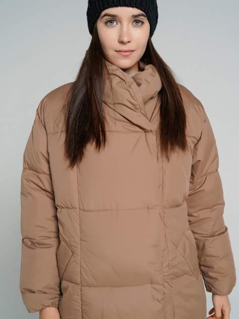 Пуховик-пальто женский ТВОЕ A6554 бежевый XL