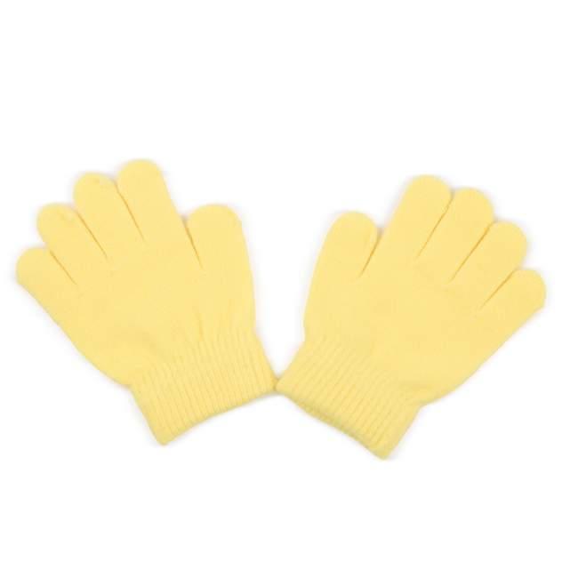 Перчатки детские Fun Time, цв. желтый