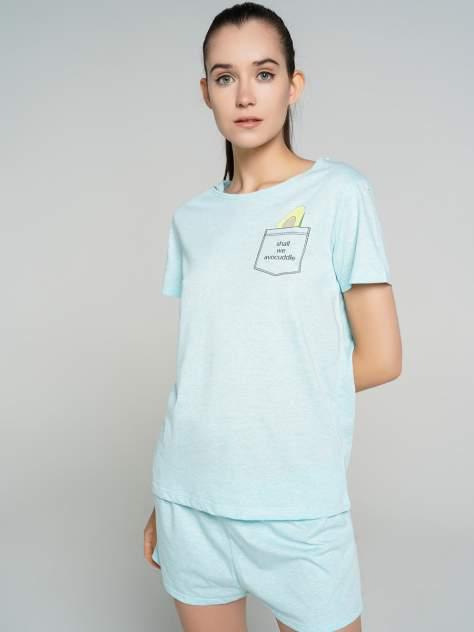 Пижама женская ТВОЕ 76296 голубая XS