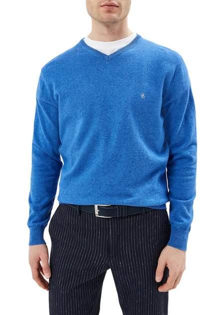 Пуловер мужской La Biali В309/219-735 голубой 3XL