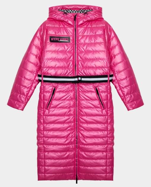 Розовое пальто демисезонное Gulliver размер 170 22009GJC4510