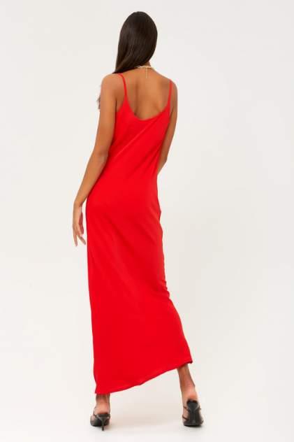 Платье женское MINAKU 5279176 красное 42