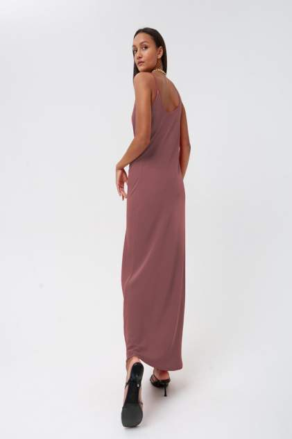 Платье женское MINAKU 5304705 коричневое 46