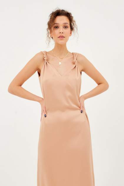 Платье женское MINAKU 5406290 коричневое 42