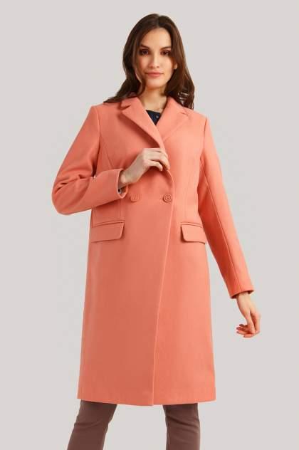 Пальто-бушлат женское Finn Flare B19-11007 розовое 2XL