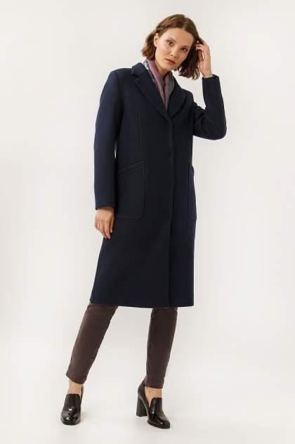 Пальто женское Finn Flare A19-12025 синее S
