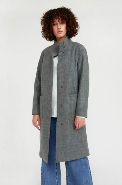 Женское пальто Finn Flare A20-11017, голубой