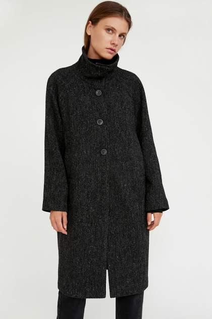 Пальто женское Finn Flare A20-12026 серое S