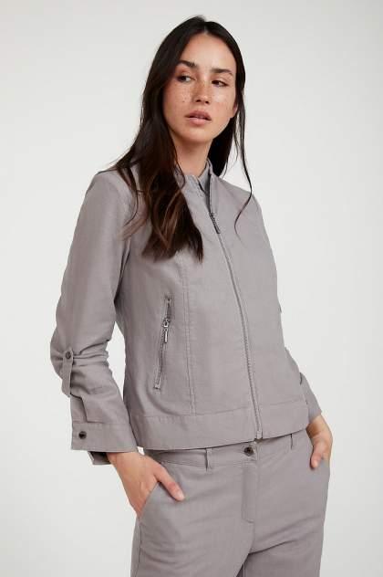 Жакет женский Finn Flare S20-32039 серый L