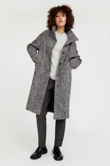 Пальто женское Finn Flare A20-12026 серое M