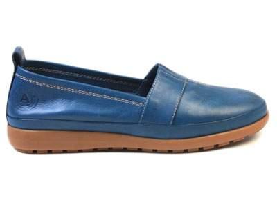 Мокасины женские Airbox 137203, синий
