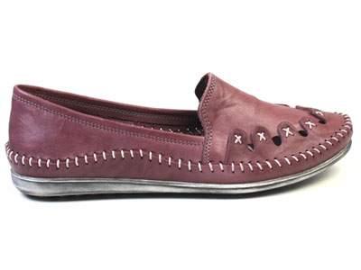 Мокасины женские Airbox 137231, фиолетовый