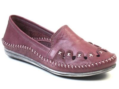 Мокасины женские Airbox 137231 фиолетовые 36 RU