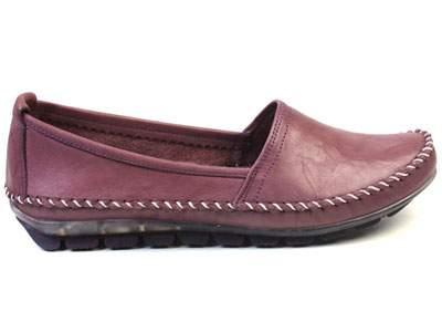 Мокасины женские Airbox 137236, фиолетовый