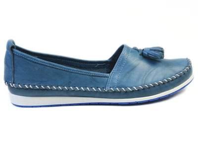 Мокасины женские Airbox 137237, синий