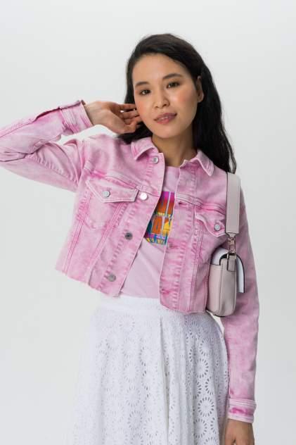Куртка женская Guess W02N08D2G6F розовая 42