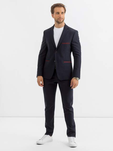Пиджак мужской Marc De Cler ZPs2181-25-24145Navy-188, синий