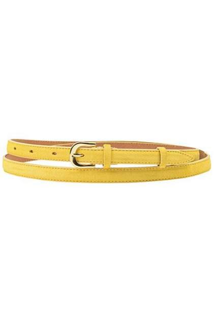 Ремень женский Vip Collection R0764 15 G желтый, 110 см