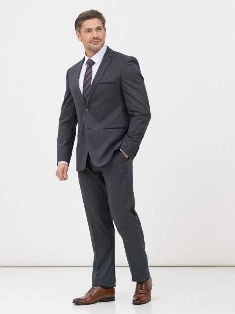Мужской костюм Marc De Cler Ki 2181-25-22949Grey-182, серый, синий