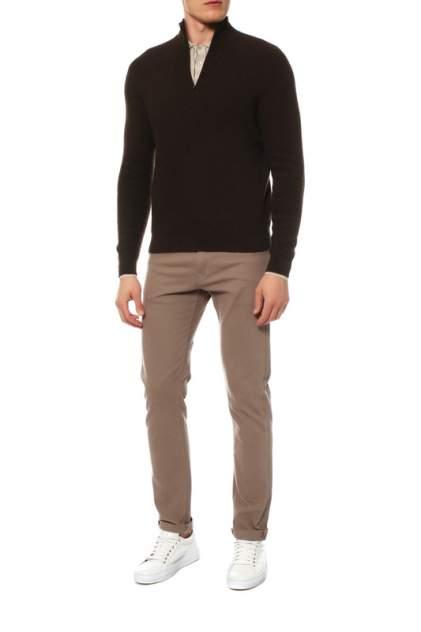 Поло мужское Mir cashmere YML16-004 коричневое L