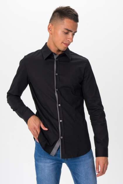 Рубашка мужская Envy Lab R008 черная 52