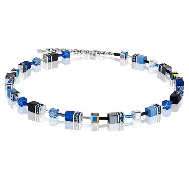 Ожерелье из бижутерного сплава с кристаллом/гематитом 45 см Coeur de Lion 4014/10-0712
